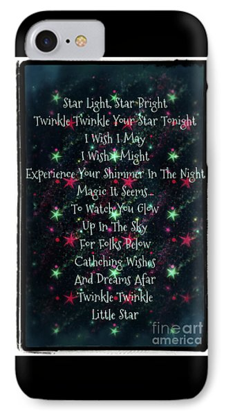 Little Star  IPhone Case by Sherry Flaker