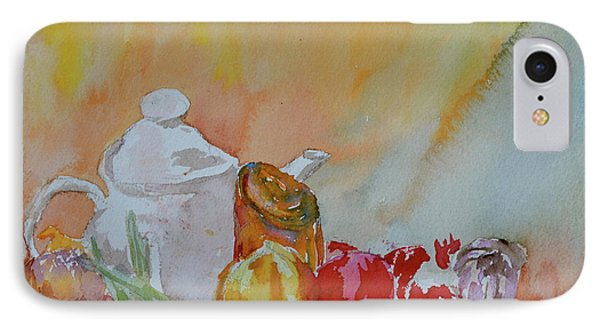 IPhone Case featuring the painting Little Still Life by Beverley Harper Tinsley