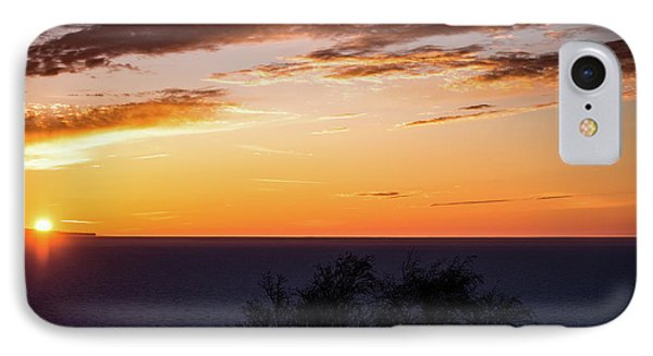 IPhone Case featuring the photograph Little Traverse Bay Sunset by Onyonet  Photo Studios