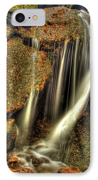 Little Waterfall At Burn O Vat Phone Case by Gabor Pozsgai