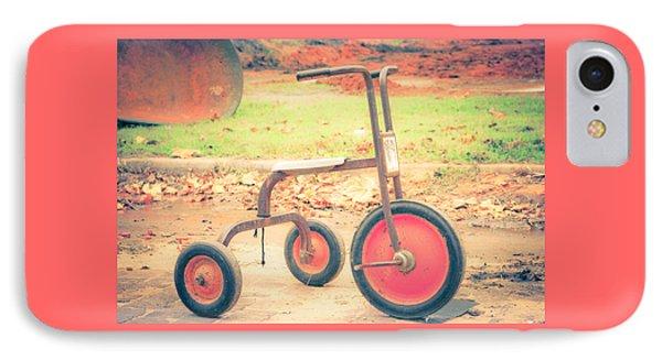 Little Wheels Phone Case by Toni Hopper