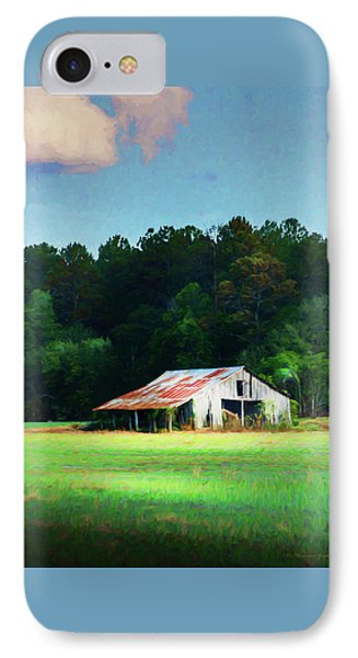 Little White Barn IPhone Case by Marvin Spates