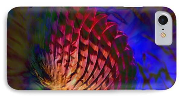 IPhone Case featuring the digital art Little Wing by Kevin Caudill