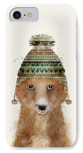 Little Winter Fox IPhone Case