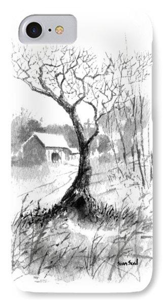 Little Zen Tree 1832 IPhone Case