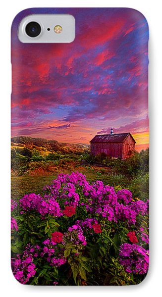 Live In The Moment IPhone Case by Phil Koch