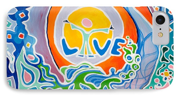 Live Love IPhone Case by Jaison Cianelli