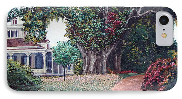 Live Oak Gardens Jefferson Island La Phone Case by Todd A Blanchard