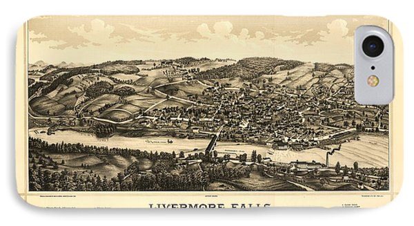 Livermore Falls Maine IPhone Case by Mountain Dreams