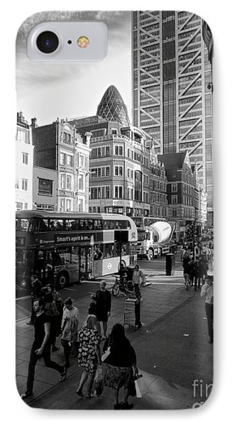 Liverpool Street  IPhone Case by Gary Bridger