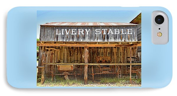 Livery Stable IPhone Case by Ray Shrewsberry