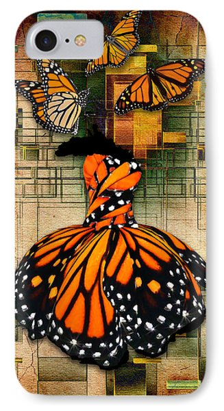 IPhone Case featuring the mixed media Living A Life With No Boundaries by Marvin Blaine