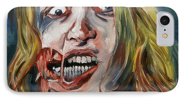 Living Dead Girl By Fabrice Martin IPhone Case by Fabrice MARTIN