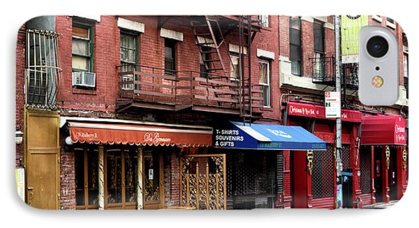 Living In Little Italy IPhone Case by John Rizzuto