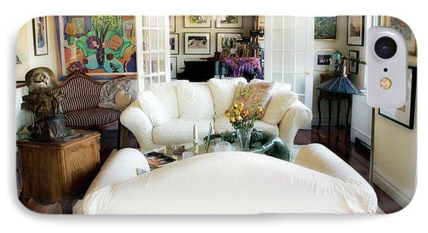 Living Room Iv Phone Case by Madeline Ellis