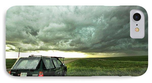 Living Saskatchewan Sky IPhone Case by Ryan Crouse
