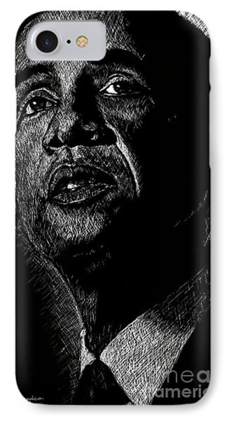Living The Dream IPhone 7 Case by Maria Arango