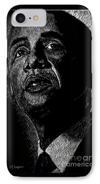 Living The Dream IPhone Case by Maria Arango