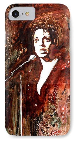 Liza Phone Case by Marcelo Neira