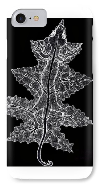 Lizard And Leaf Phone Case by Nick Gustafson