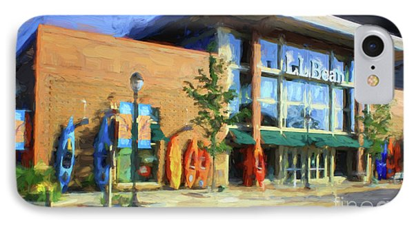Ll Bean Store At The Promenade In Pa Phone Case by Heinz G Mielke