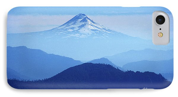 Llaima Volcano Chile Phone Case by James Brunker