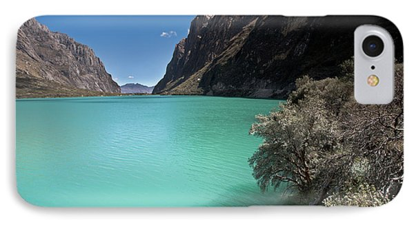 Llanganuco Lakes In Cordillera Blanca IPhone Case