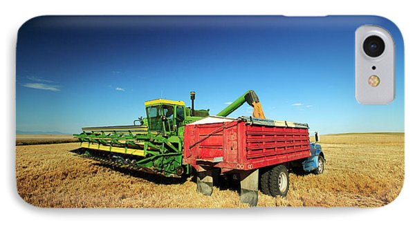 Load Of Wheat IPhone Case by Todd Klassy