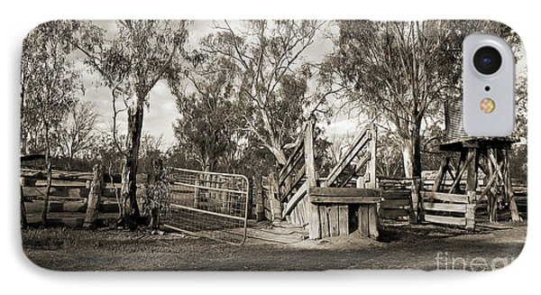 IPhone 7 Case featuring the photograph Loading Ramp by Linda Lees