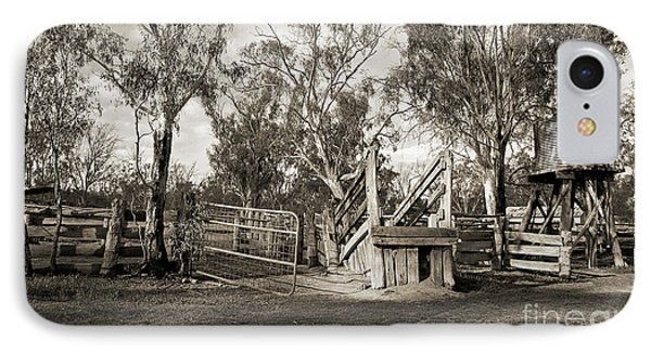 IPhone Case featuring the photograph Loading Ramp by Linda Lees
