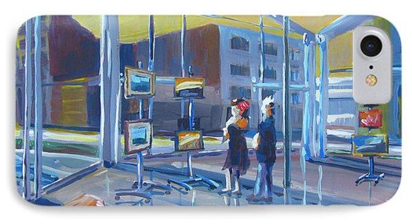 Lobby Gallery IPhone Case by Vanessa Hadady BFA MA