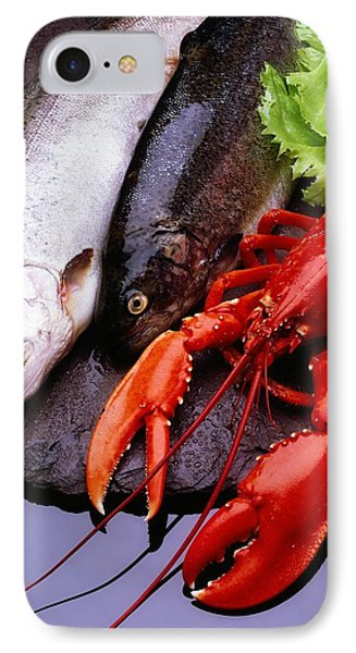 Lobster And Trout Phone Case by The Irish Image Collection
