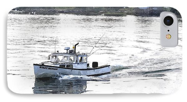 Lobster Boat Lbwc IPhone Case by Jim Brage