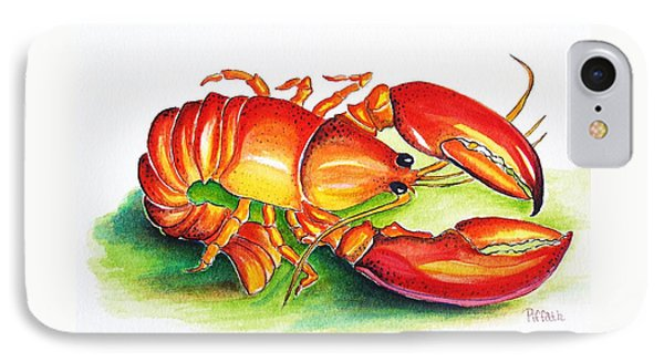 Lobster IPhone Case by Patricia Piffath