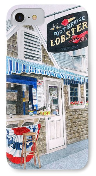 Lobster Shack Phone Case by Glenda Zuckerman