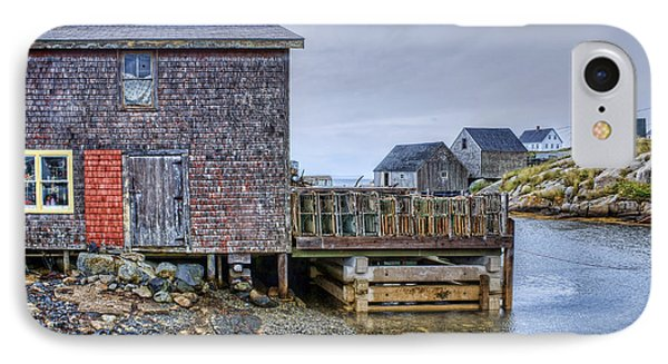 Lobster Shack - Peggy's Cove IPhone Case by Nikolyn McDonald