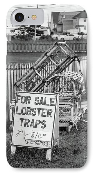 Lobster Traps For Sale IPhone Case by Edward Fielding