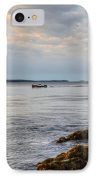Lobsterboat Freedom II - Bass Harbor, Maine IPhone Case