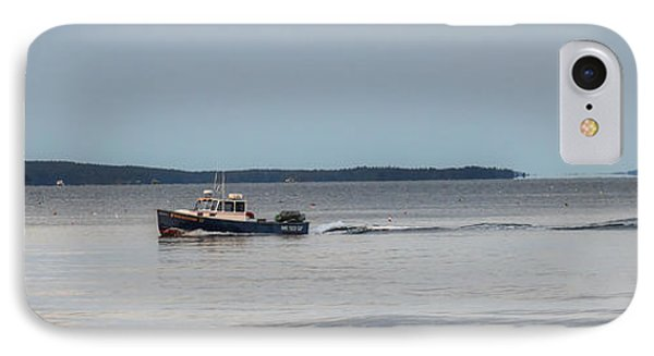 Lobsterboat Freedom II - Panoramic IPhone Case