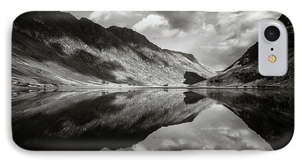 Loch Achtriochtan IPhone Case by Dave Bowman