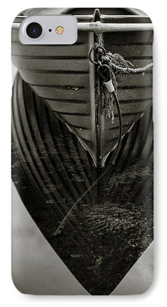 Boat Reflection IPhone Case by Dave Bowman