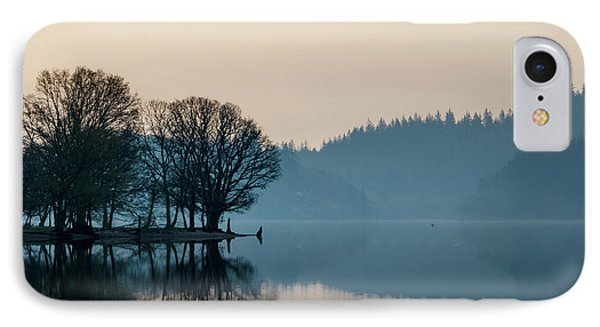 Loch Ard Reflection IPhone Case by Dave Bowman