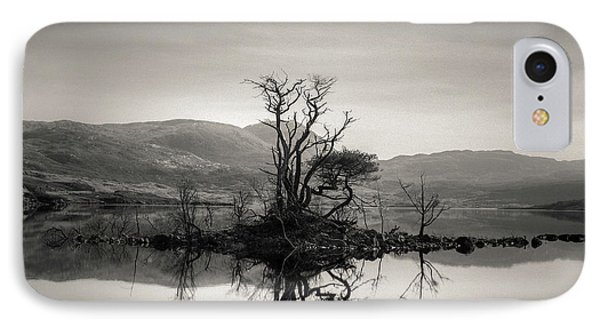 Loch Assynt Reflection IPhone Case