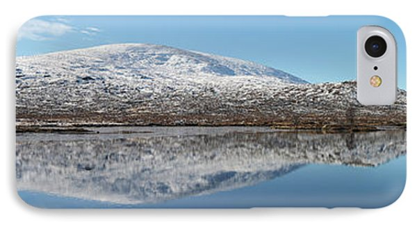 IPhone Case featuring the photograph Loch Droma Panorama by Grant Glendinning