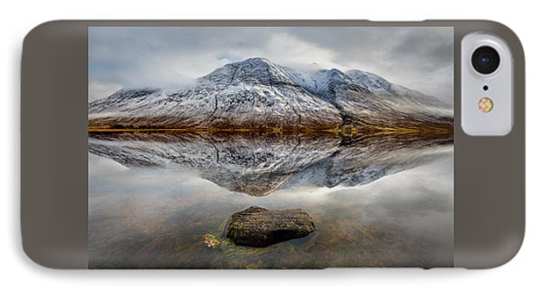 Loch Etive Reflection IPhone Case by Dave Bowman