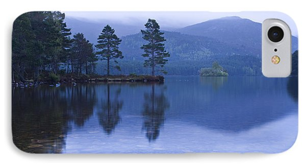 IPhone Case featuring the photograph Loch Garten In The Cairngorms Scotland by Gabor Pozsgai