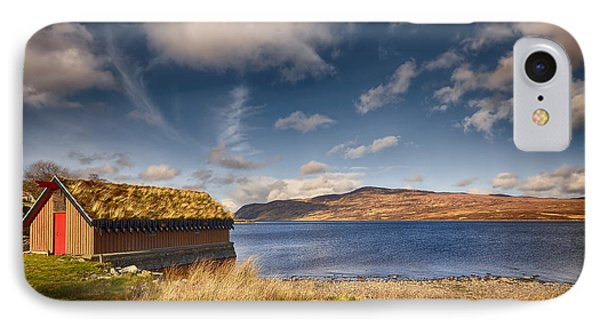 Loch Hope IPhone Case by Nichola Denny