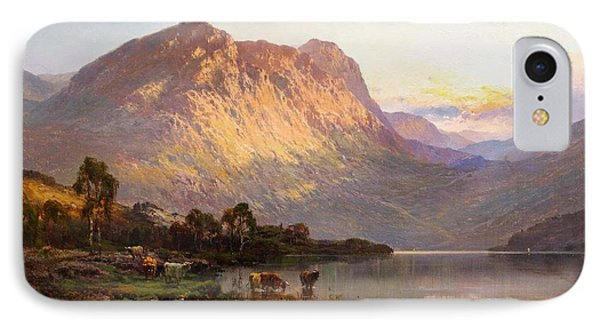 Loch Lomond And A Trout Stream Near Stirling IPhone Case by Celestial Images
