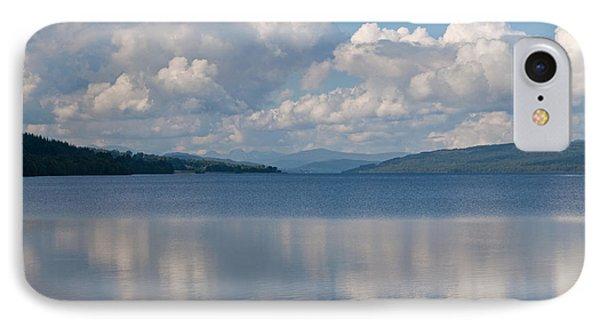 Loch Rannoch Clouds Phone Case by Chris Thaxter