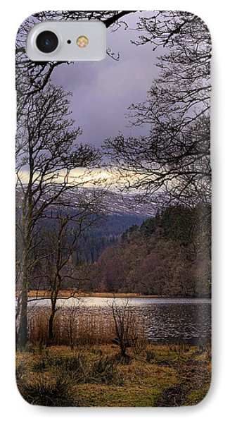 IPhone 7 Case featuring the photograph Loch Venachar by Jeremy Lavender Photography